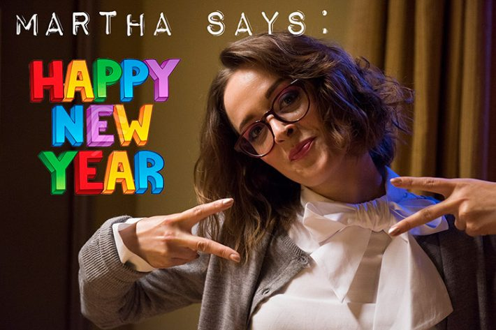 From everyone at Team Once Bitten... we would like to wish you all a very Happy New Year! #BeLikeMartha