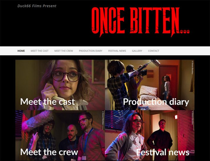 The new Once Bitten... website is live!