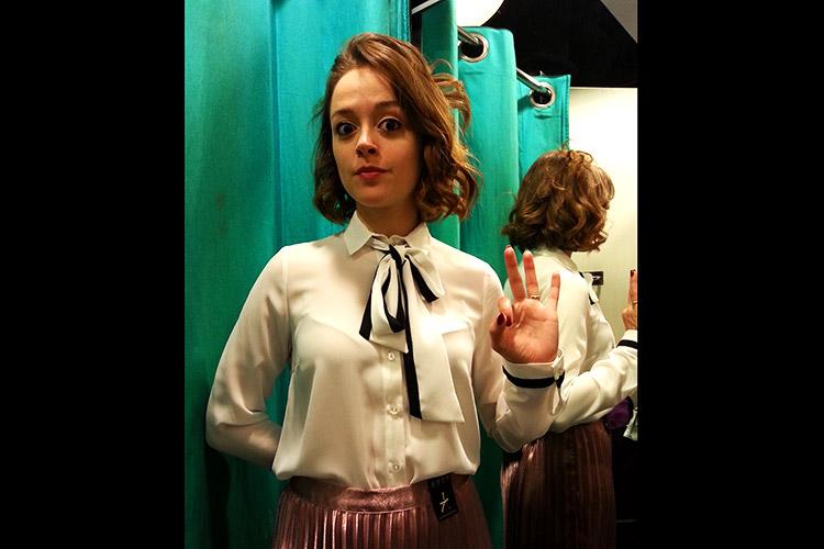 Martha says yes! Lauren Ashley Carter gives her wardrobe the ok