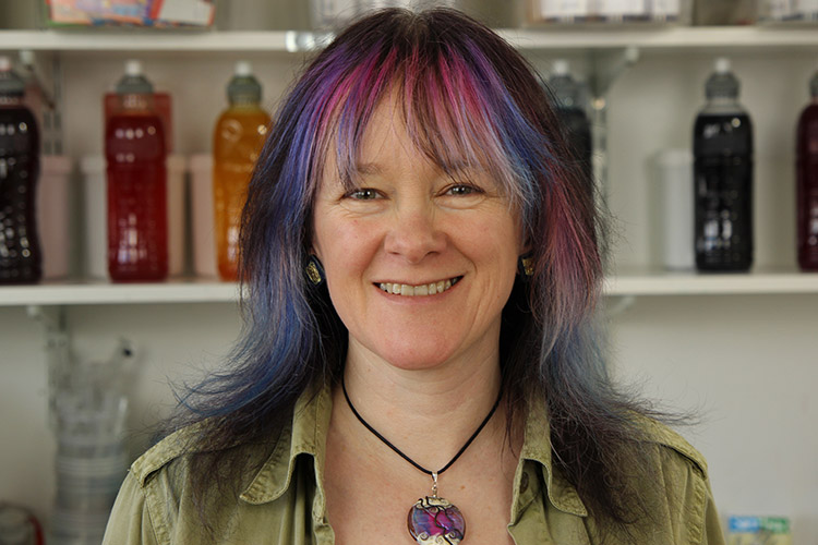 Debbie Tomkies is an experienced textile designer, author and tutor. She runs social enterprise Making Futures and is a partner at DT Craft & Design.