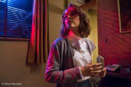 Lauren Ashley Carter as Martha Swales on the Once Bitten… set