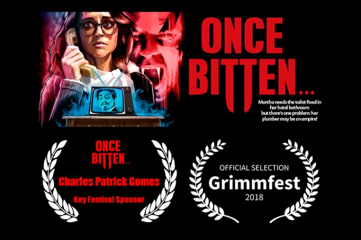 Grimmfest 2018 Key Festival Sponsor - Charles Patrick Gomes